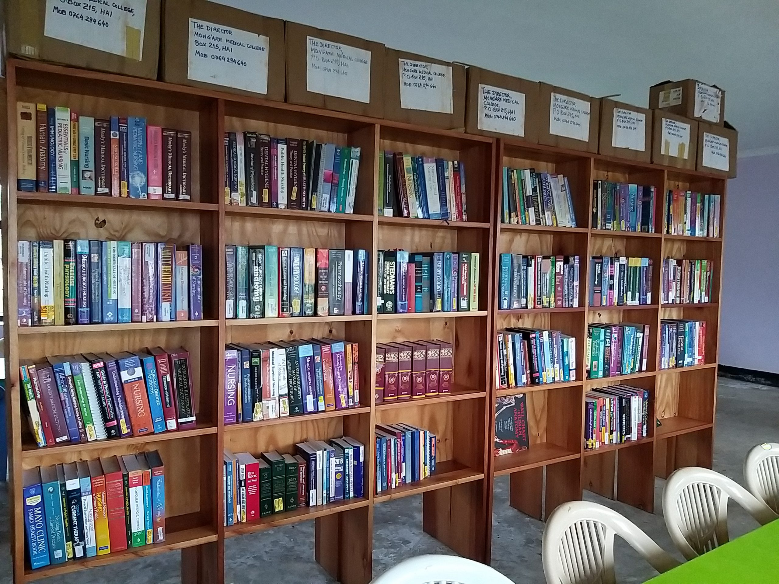 Donate Books to Mong`are College